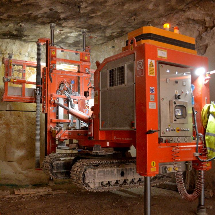 Portland stone mining operation