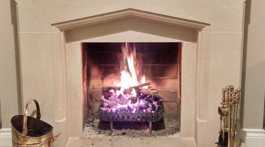 Portland stone fireplaces