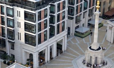Paternoster Square Portland limestone project