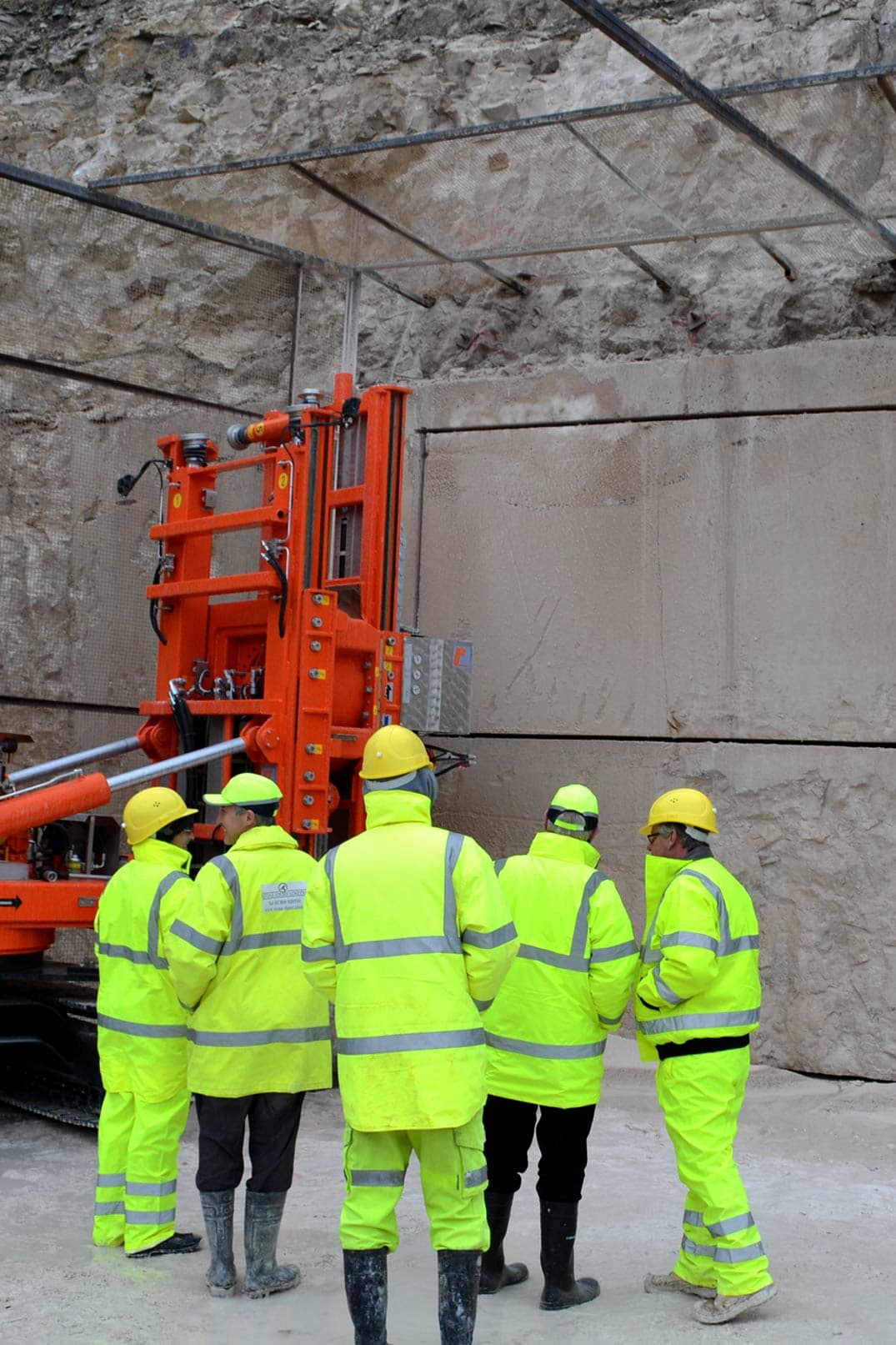 Portland Stone Firms tours of factory and quarries