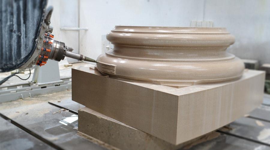 Portland stone CNC machines