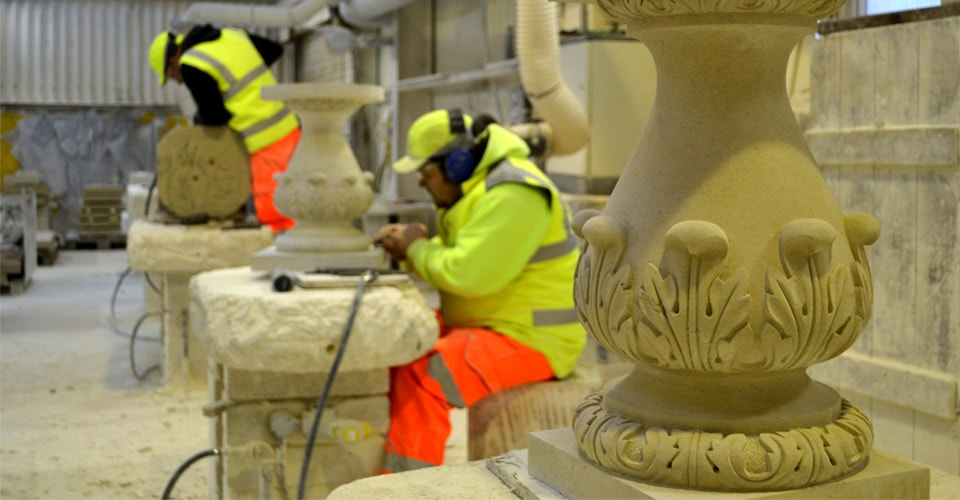 Portland stone carving and commissions