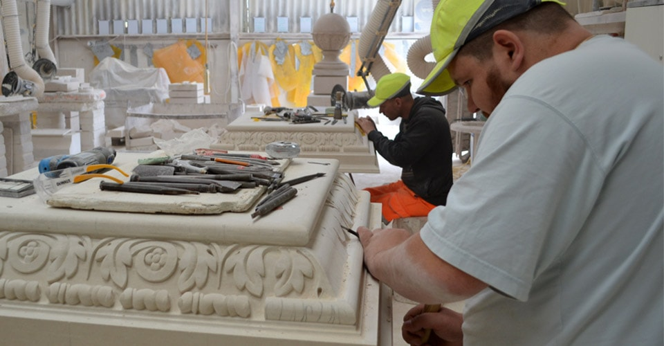 Portland stone products